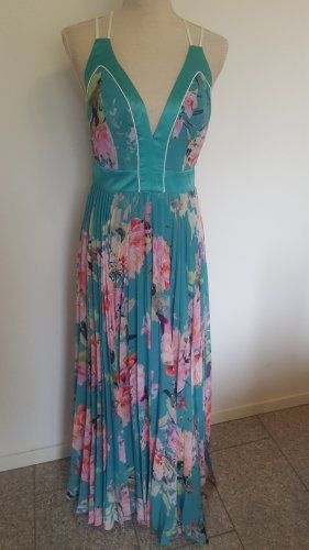Marciano Los Angeles Szyfonowa sukienka różowy-turkusowy