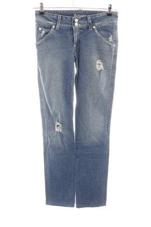 Marciano Slim Jeans blau Casual-Look