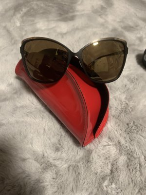 Marciano Hoekige zonnebril zwart-goud