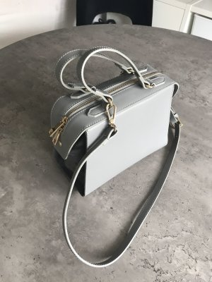 Bowling Bag grey-anthracite leather