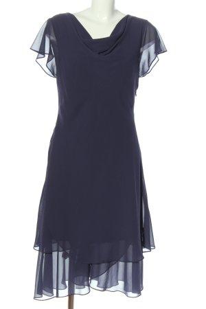 Marco Pecci Abendkleid blau Casual-Look