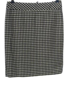Marco Pecci Bleistiftrock schwarz-weiß Karomuster Casual-Look