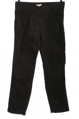 Marco Pecci Chinohose schwarz Business-Look