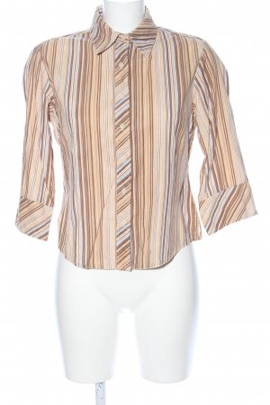 Marco Pecci Hemd-Bluse Streifenmuster Casual-Look