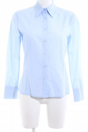 Marco Pecci Hemd-Bluse blau Business-Look