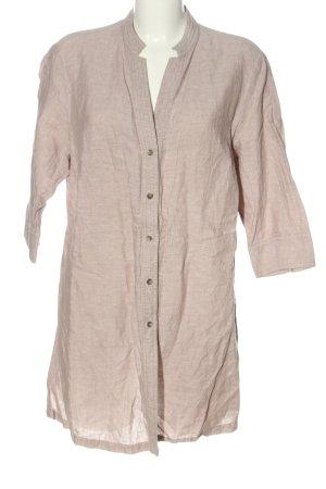 Marco Pecci Camicia blusa crema puntinato stile casual