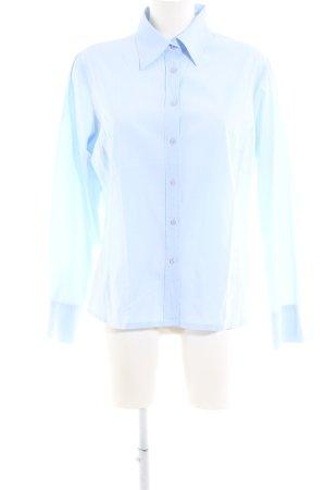 Marco Pecci Hemd-Bluse blau Business-Look
