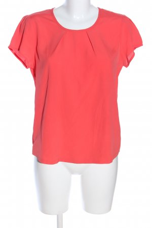 Marco Pecci Kurzarm-Bluse rot Business-Look