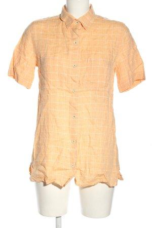 Marco Pecci Camicia a maniche corte arancione chiaro-bianco stampa integrale