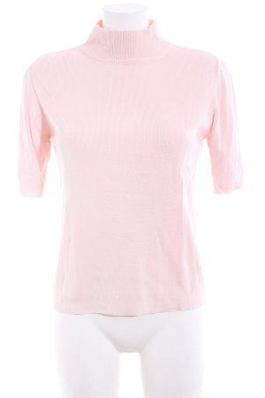 Marco Pecci Kurzarmpullover pink Casual-Look