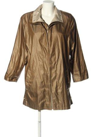 Marco Pecci Lange Jacke bronzefarben Casual-Look