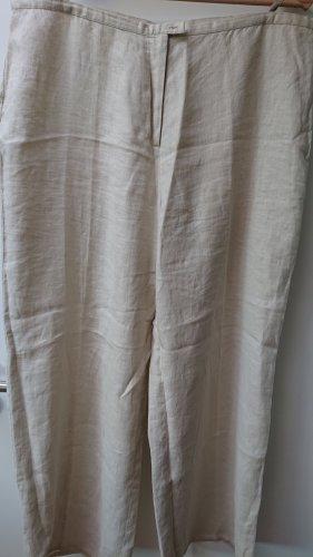 Marco Pecci Pantalone di lino beige chiaro