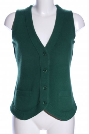 Marco Pecci Knitted Vest green casual look