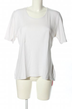 Marco Pecci T-Shirt weiß Casual-Look