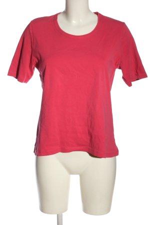 Marco Pecci T-shirt rosso stile casual