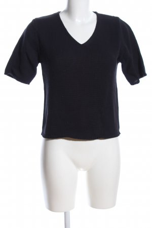 Marco Pecci T-Shirt schwarz Casual-Look