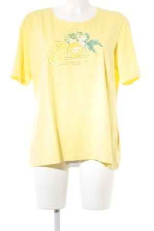 Marco Pecci T-Shirt Motivdruck Casual-Look