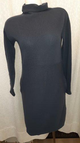 Marc O'Polo Sukienka dresowa czarny-ciemnoniebieski