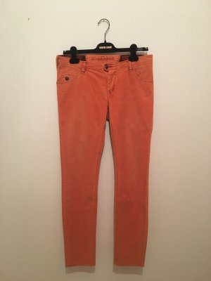 Marco Polo Campus orange 29 Kurkuma Rost Cord Babycord Baumwolle elasthan bequem warm Winter Trendfarbe straight slim