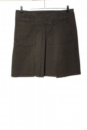 Marco Polo Cargo Skirt light grey casual look