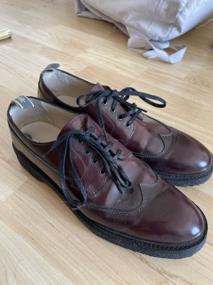 Marco Polo Halbschuhe Oxford England Vintage Style
