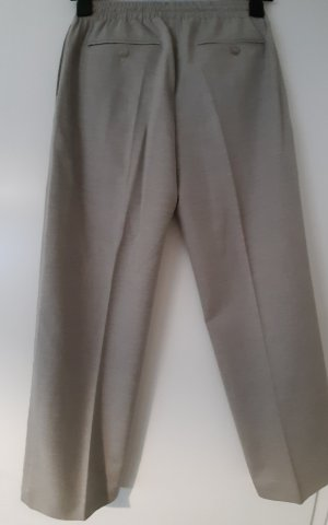 Campus Marco Polo Pleated Trousers beige wool