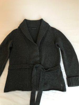 Marc O'Polo Veste en laine gris foncé