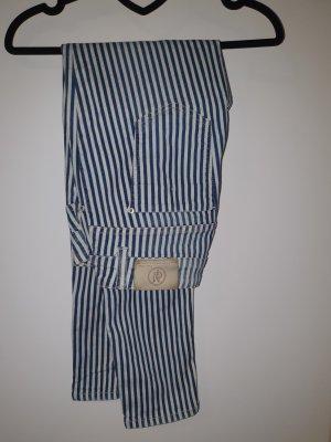 Marco Polo Jeans stretch blanc-bleu