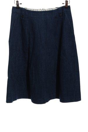 Marco Polo Jeansrock blau Casual-Look
