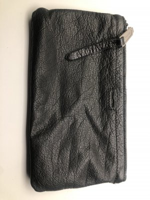 Marco Polo Makeup Bag black-silver-colored