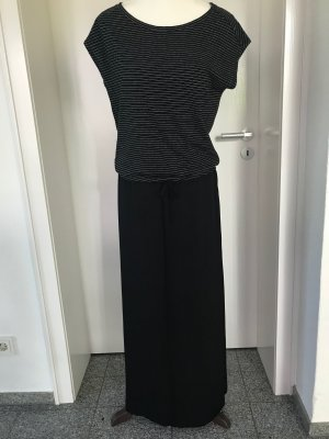 Maxi Dress black-white