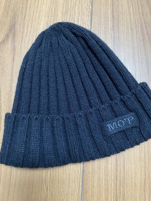 Marco Polo Knitted Hat black
