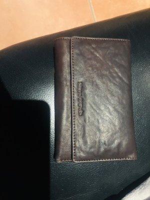 Marco Polo Cartera marrón oscuro-marrón Cuero
