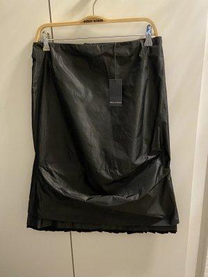 Marco Polo Leren rok zwart