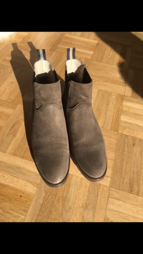 Campus by Marc O'Polo Slip-on Booties grey brown