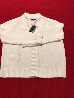 Marco Polo Chaqueta estilo camisa blanco