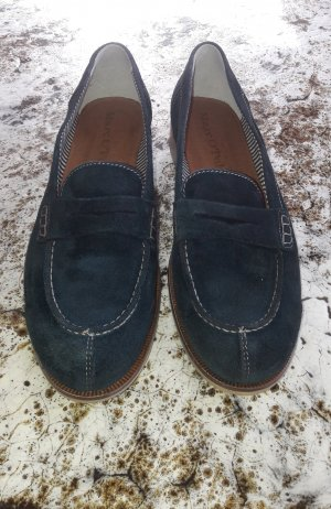 Marc O'Polo Slippers dark blue