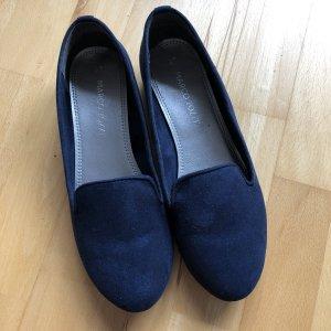 Marco Tozzi Ballerinas blau