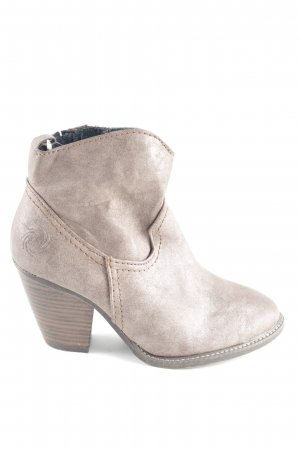 Marco Tozzi Booties wollweiß Business-Look