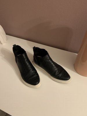 Marco Tozzi Chelsea Boot noir-blanc