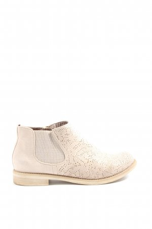 Marco Tozzi Chelsea Boots wollweiß Casual-Look