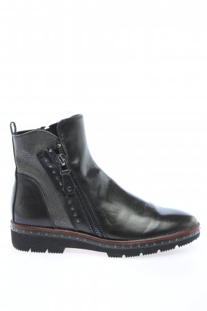 Marco Tozzi Chelsea Boots schwarz Casual-Look