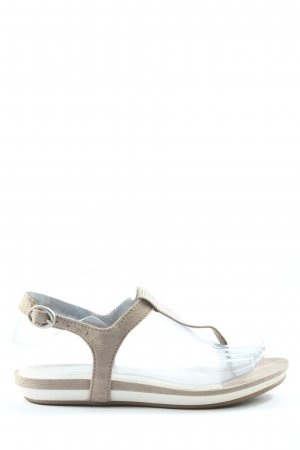 Marco Tozzi Dianette Sandals light grey casual look