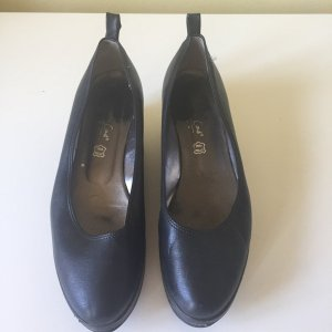 Marco Tozzi Slingback Ballerinas black leather