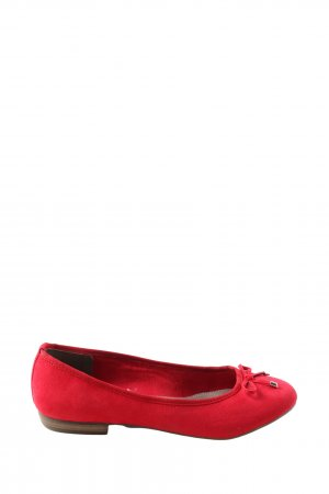 Marco Tozzi Foldable Ballet Flats red casual look
