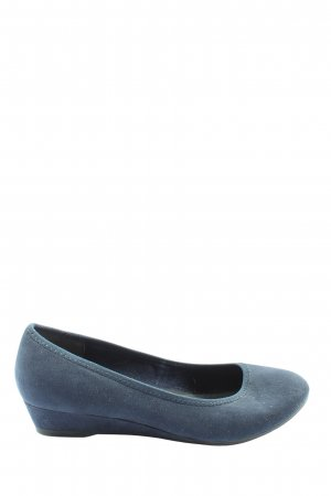 Marco Tozzi Foldable Ballet Flats blue casual look