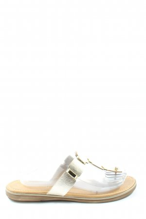 Marco Tozzi Flip-Flop Sandals cream-natural white casual look