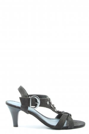 Marco Tozzi High Heel Sandaletten schwarz Casual-Look