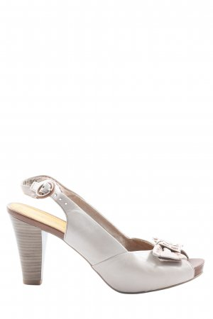 Marco Tozzi High Heel Sandaletten weiß Elegant