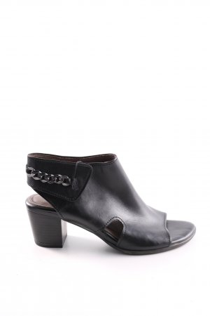 Marco Tozzi High Heel Sandaletten schwarz Business-Look